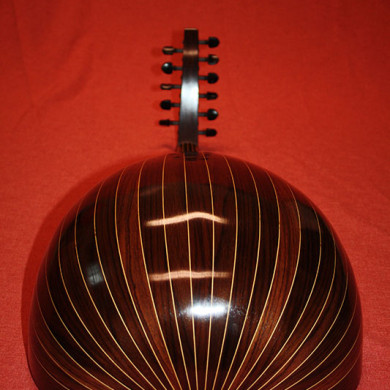 different angle of the oud